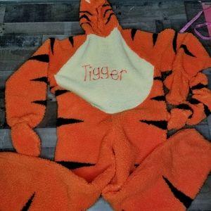 Other - Disney Tigger Adult Costume Plush Fabric Body Suit